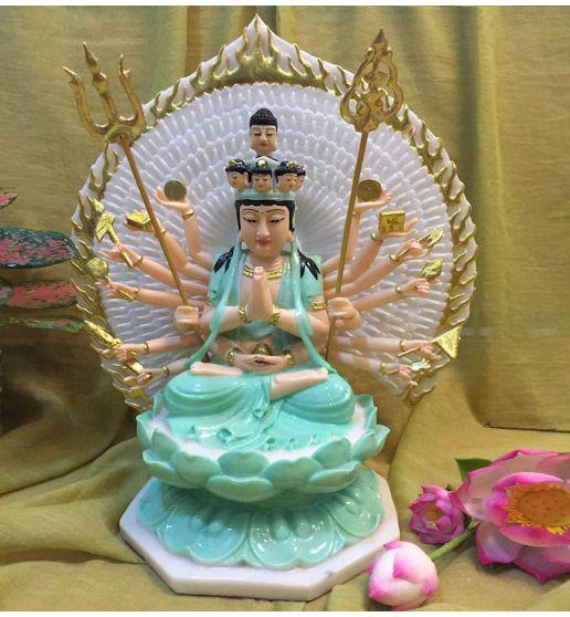 tuong-thien-thu-thien-nhan-da-xanh-30cm